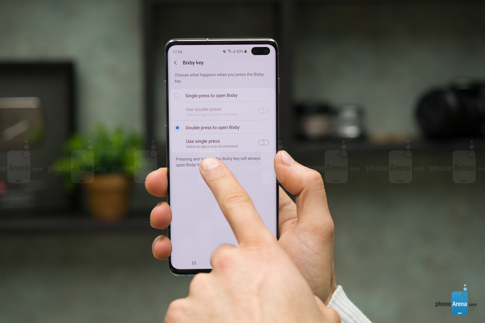 How to change or disable Bixby button on Galaxy S10, S10 Plus and