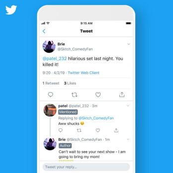 Twitter đang thử nghiệm nhãn mới cho các chủ đề bao gồm cả tác giả, được đề cập và theo dõi