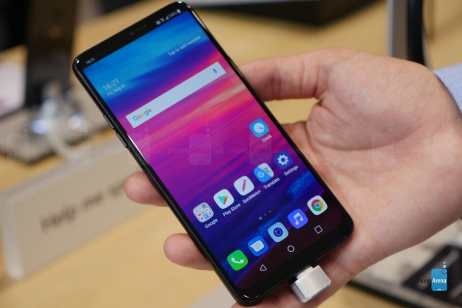 LG G7 Fit discreetly goes up for sale in the US with upper mid-range specs