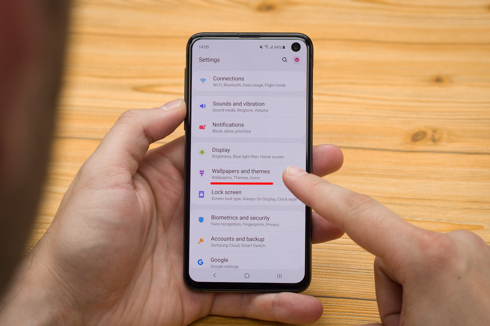 How to set a video lockscreen on the Galaxy S10, S10+, or