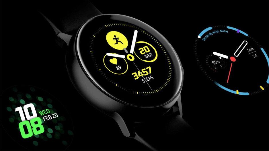 The Samsung Galaxy Watch Active also has a few innovative watchface designs. How many innovative smartphone lockscreen designs have you seen lately? - We need a better smartphone lockscreen experience