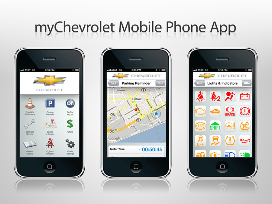 Mychevrolet integrates onstar with android iphone for Ebay motors app for android