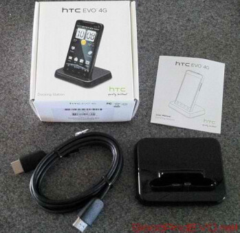 HDMI dock for the HTC EVO 4G is now available for $39.99