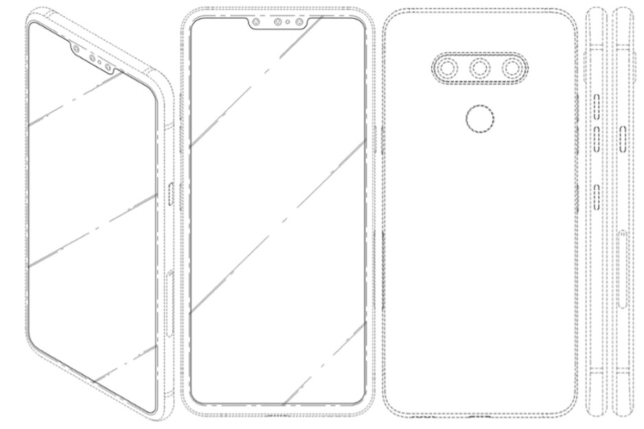 LG's future flagships could carry three front-facing cameras