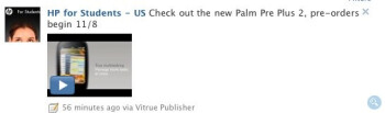 Palm Pre 2 pre-orders set to begin November 8?
