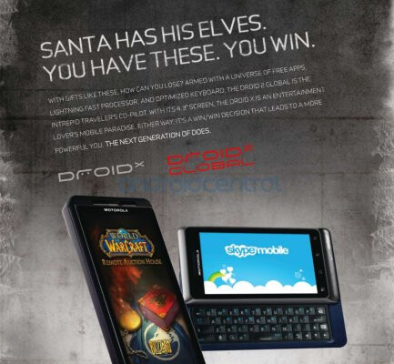 Motorola DROID 2 Global spotted in Men's Fitness - Motorola DROID 2 Global is spotted in the December edition of Men's Fitness
