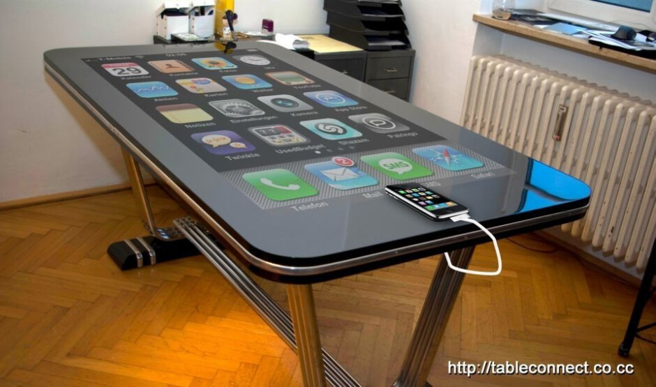Table Connect gives you a 58-inch iPhone?
