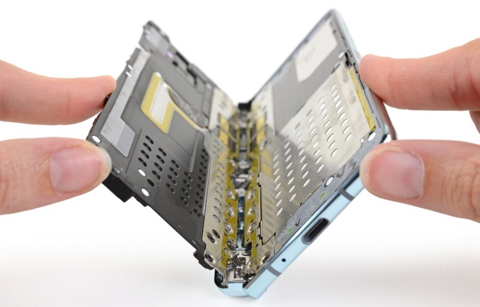 This state-of-the-art hinge mechanism almost justifies the $2,000 price point - Complete Samsung Galaxy Fold teardown reveals major design flaws (and a strong point)