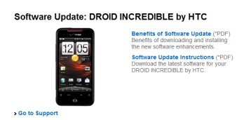 The HTC Droid Incredible will be the first to have the VCAST App store