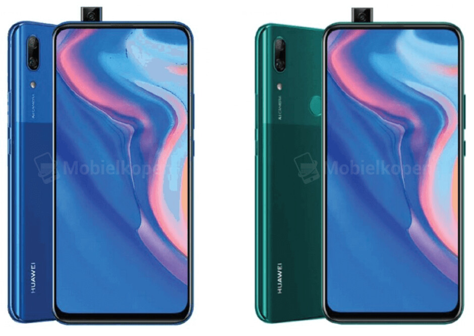 Huawei P Smart Z - Huawei's first phone with a pop-out camera just leaked