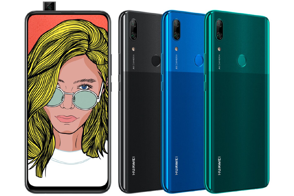 Huawei's first phone with a pop-out camera just leaked