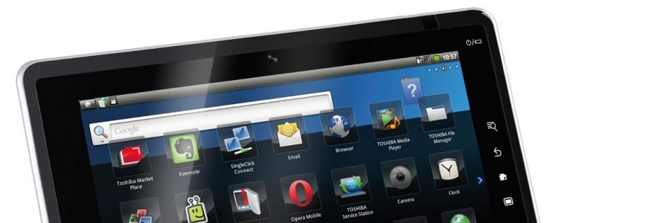 Toshiba's FOLIO 100 tablet ships to Europe