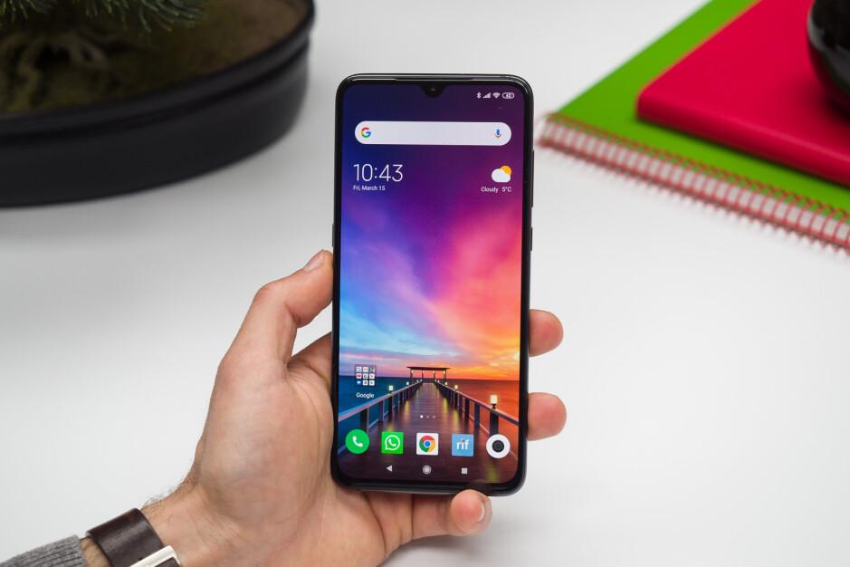 The Xiaomi Mi 9 has an in-display fingerprint scanner - Xiaomi's budget phones could soon gain in-display fingerprint scanners