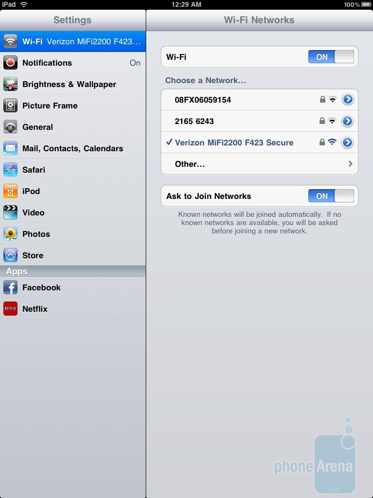 Testing data speed on the iPad - Apple iPad and MiFi 2200 bundle for Verizon Hands-on