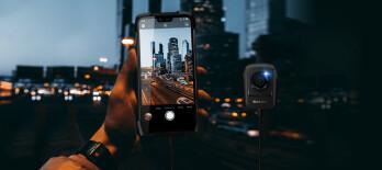 Câmera de visão noturna BV9700 Pro