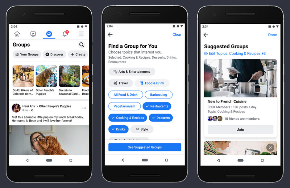 The Facebook app is getting a new look - Facebook is making changes to its mobile app
