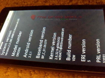 Android 2.2.1 update is coming to the Motorola DROID X?