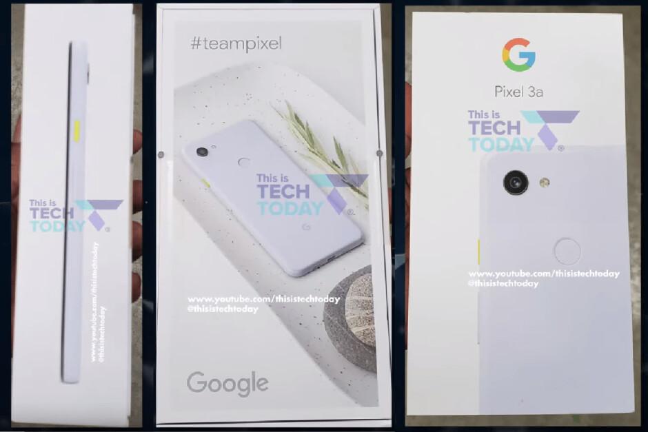 Google Pixel 3a promo images leak alongside pricing, specs, features