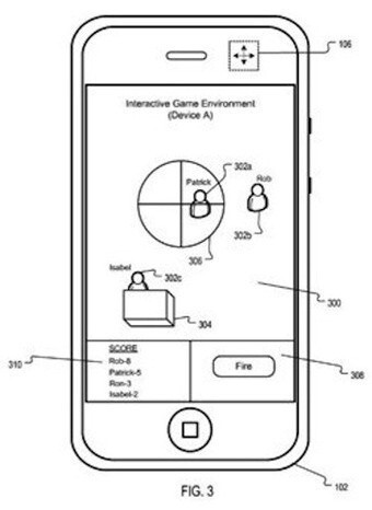 Another patent from Apple targets to make phone gaming a real world experience