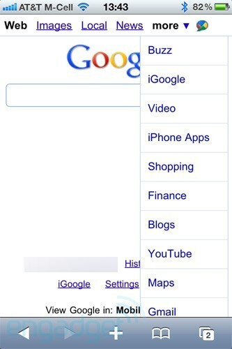 Google allows app searching in the iPhone