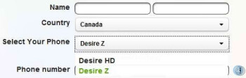 HTC Desire HD is coming to Canada courtesy of TELUS?