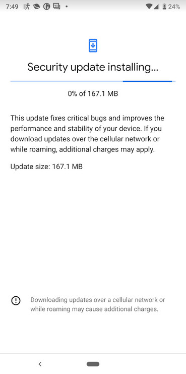 Pixel handsets are receiving a quarterly update to Android 9 Pie - May update for the Pixel handsets includes a quarterly update to Android 9