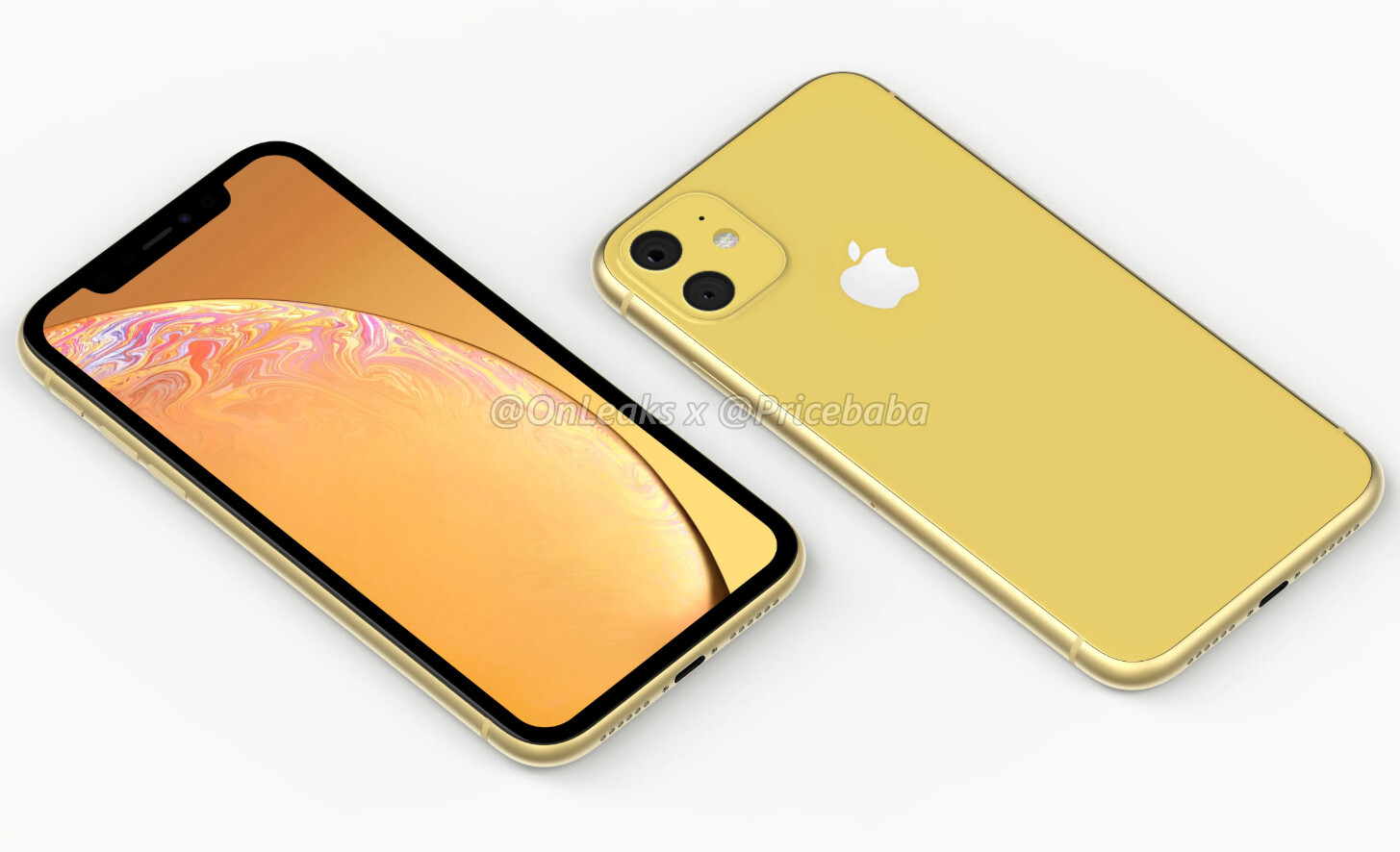 Alleged iPhone XR 2019 Renders Reveal Dual-Camera Module, Glass Back Design