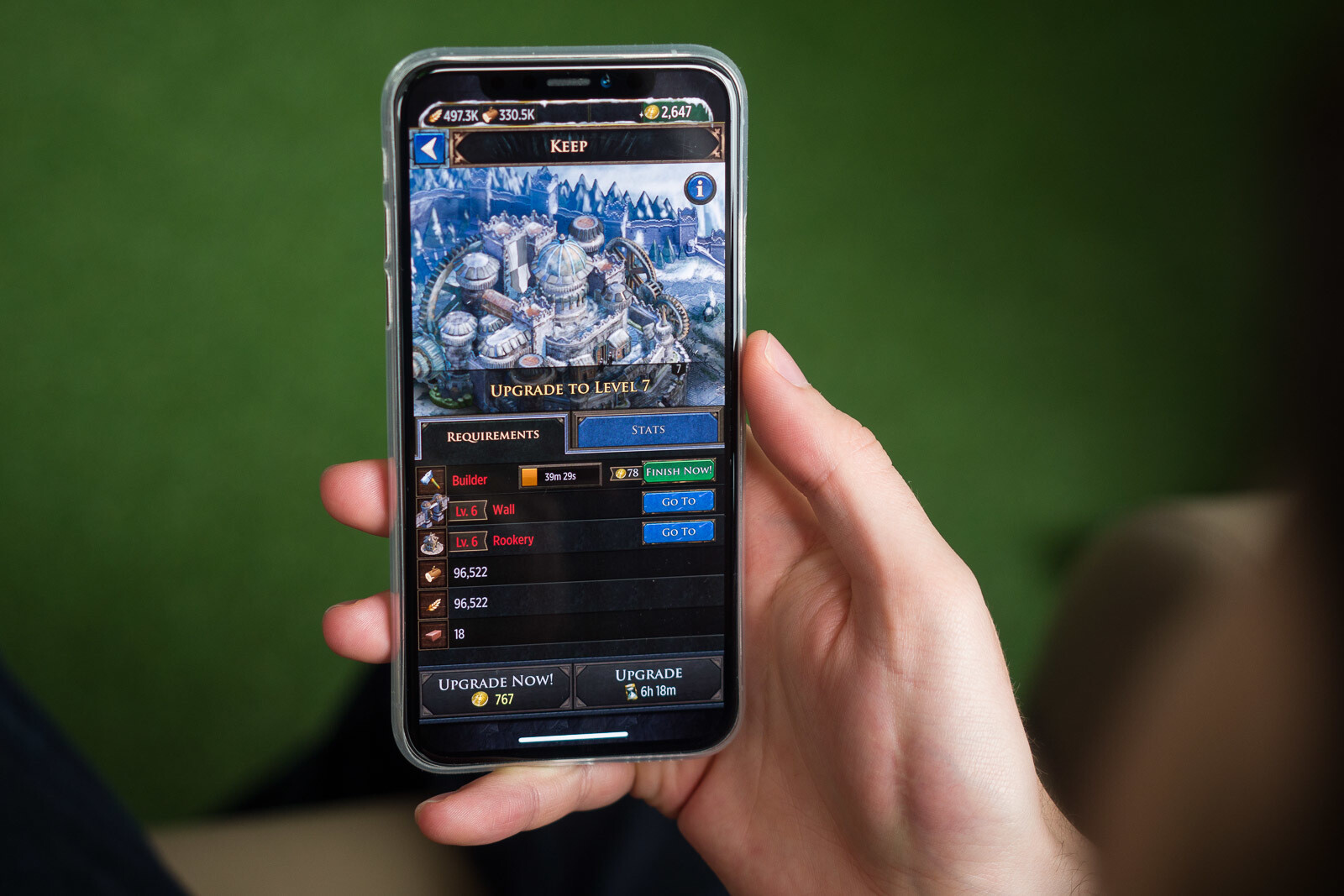 Game of Thrones: Conquest is a mobile game as disappointing