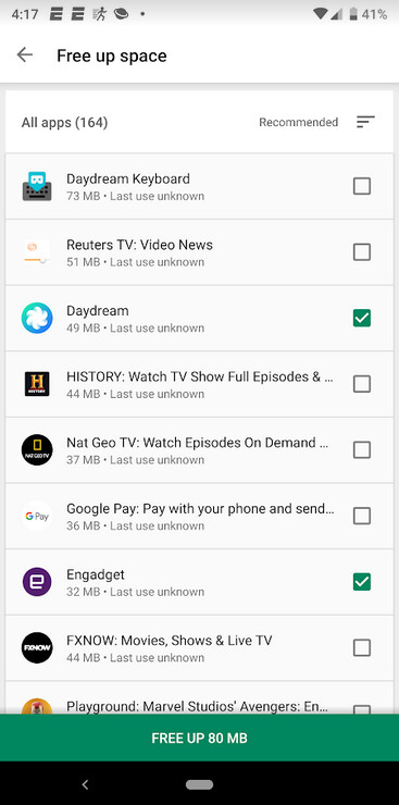 Using the Free up space page is the fastest way to see which Android apps you can uninstall - Here's the fastest way for Android users to find and uninstall apps they don't need