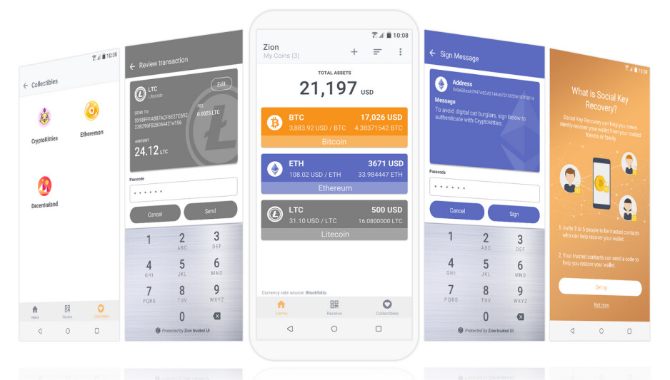 The Exodus phones include the Zion secure private vault that store, receive and send your cryptocurrencies - HTC finally announces its first phone for 2019, but most people won't want it