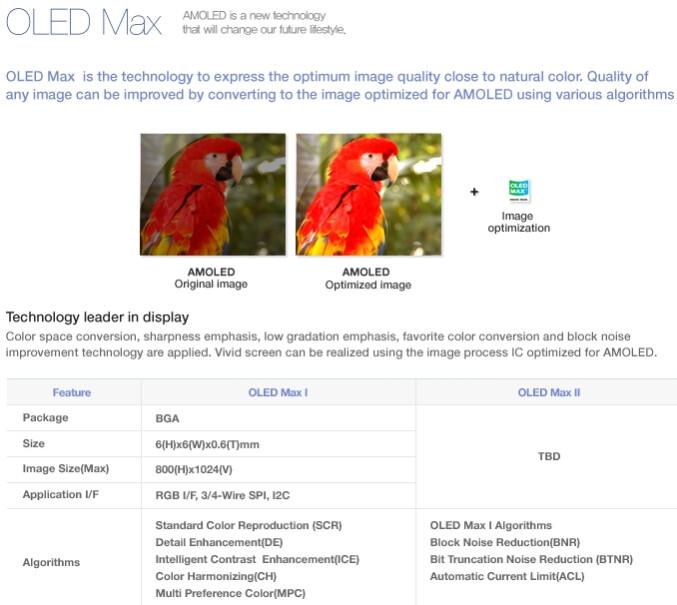 Samsung teases next generation AMOLED displays, dubbed OLED Max