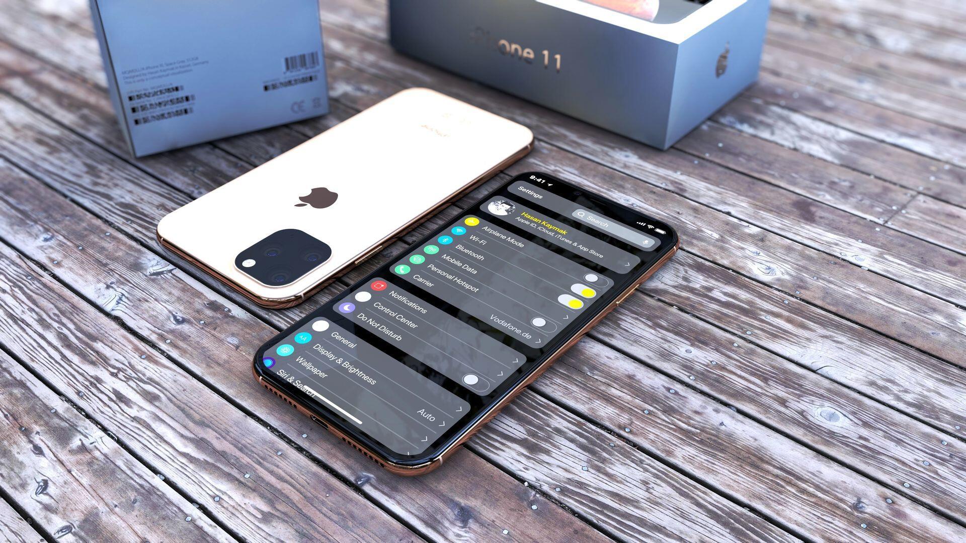Ngắm render 3D mới nhất, đẹp nhất của iPhone 2019 với cụm camera vuông và iOS 13 - Ảnh 10.