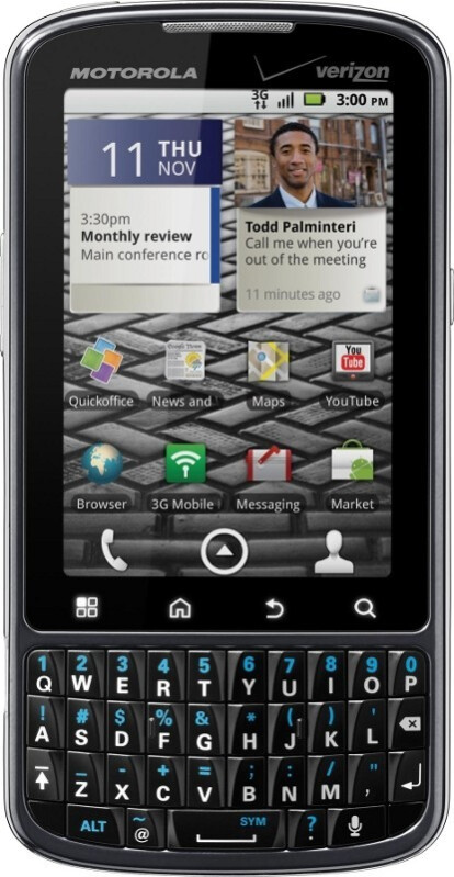 Motorola DROID PRO will cost $179.99 after rebate, online sales start November 9th