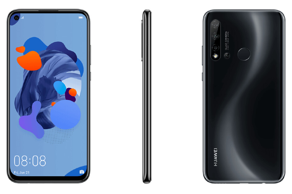 Huawei's next budget phone will feature a whopping four rear cameras