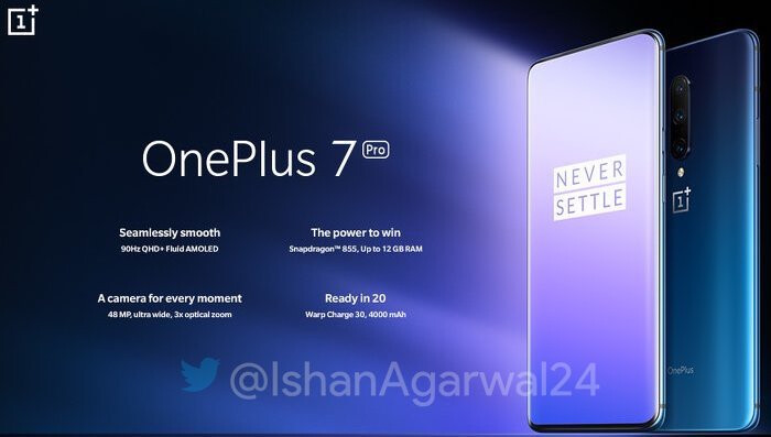 Official OnePlus 7 Pro new features header - These are the OnePlus 7/Pro retail prices, and a new features promo