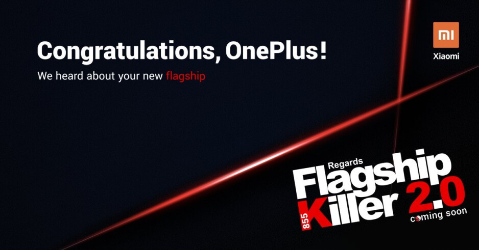 "OnePlus rival trolls company on Twitter, teases ""Flagship Killer 2.0"""