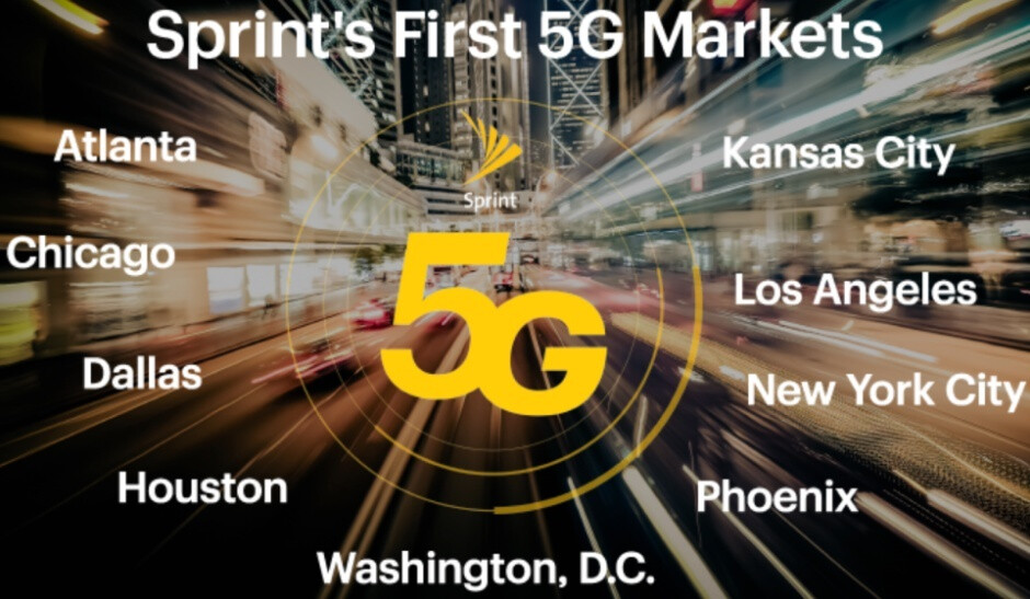 Sprint's first 5G devices get a release date and some killer introductory deals