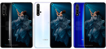 Big Honor 20 leak reveals design & colors, corroborates specs