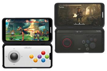 LGの実用的な技術革新であるV50 ThinQ 5Gのデュアルスクリーンは、携帯電話を折り畳むことなくゲームと生産性を向上させます。