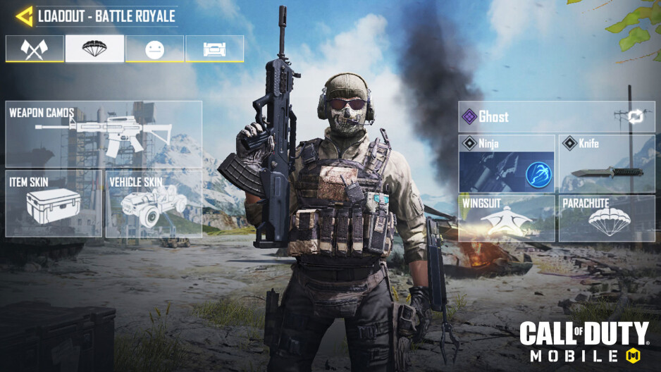 Call of Duty Mobile Battle Royale mode loadout - Activision reveals Battle Royale mode for Call of Duty: Mobile