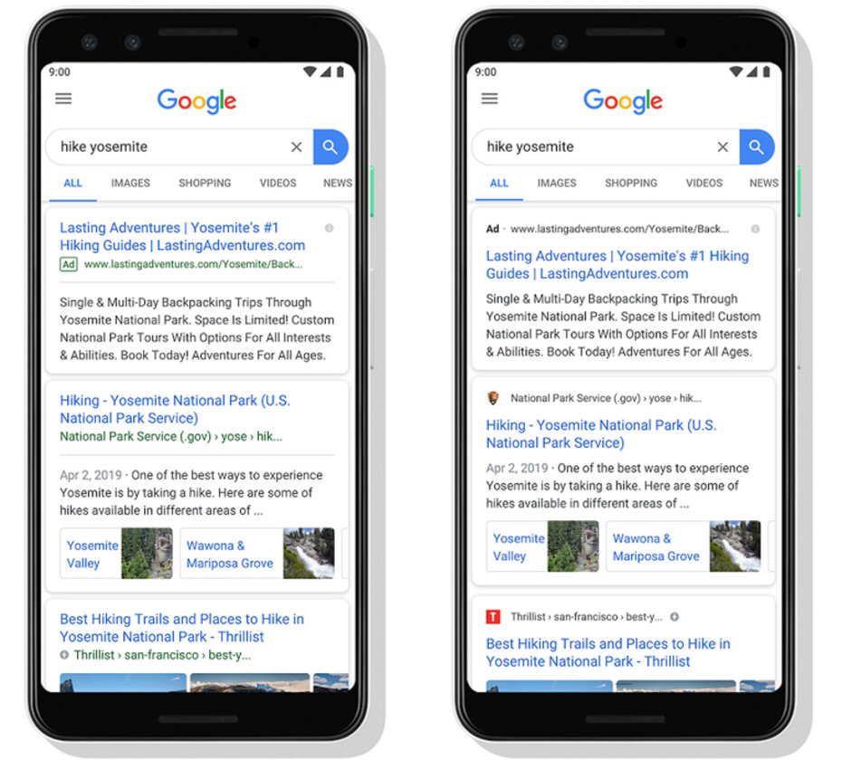 Google is making some changes to result cards on Google Search (R) - Change to Google Search will help you quickly decide which results to read