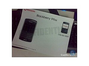 18 months ago, we told you that this was the BlackBerry 9900