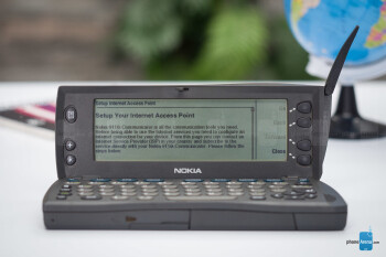 The mobile web in 1998 consisted mostly out of text