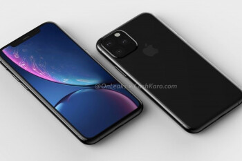 Apple iPhone 11 & 11 Max CAD-based renders