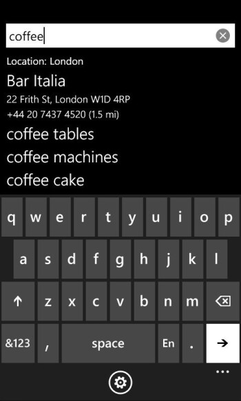 Google Search app for Windows Phone 7 released