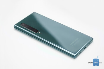 Samsung Galaxy Note 10 concept design, based on available information
