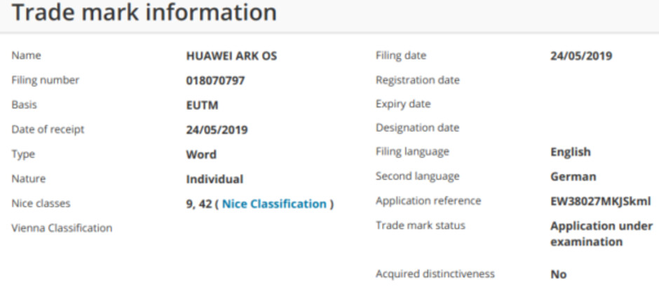 Here's what Huawei's Android replacement may actually be called