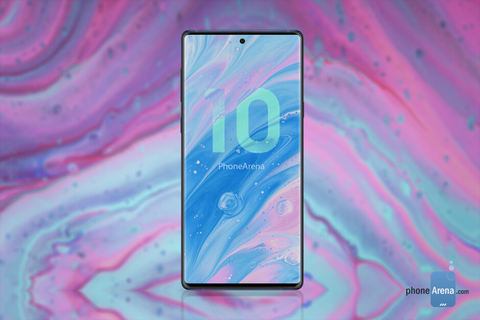 Samsung Galaxy Note 10 concept render - Samsung to skip Galaxy Note 10 camera upgrades, save tech for Galaxy S11