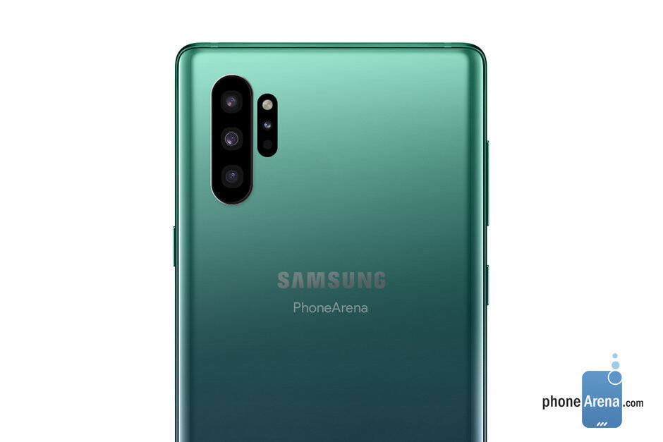 Samsung Galaxy Note 10 Pro concept render - The standard Galaxy Note 10 may actually resemble a Note 10e