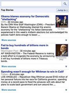 Google News by default